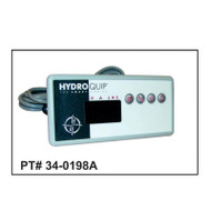HydroQuip ECO-8 Control Panel With 10' Cord, Part # 34-0198A