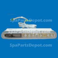 Master Spas MAS 400 Topside Control Panel (NO OVERLAY)  X310860