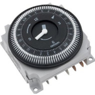 Time Clock-Grasslin 110V, 15Amp,  60Hz, 24 Hour (FM-1 / STUZ / 60Hz), 5 Lug