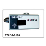 HydroQuip ECO-7 Control Panel With 10' Cord, Part # 34-0198