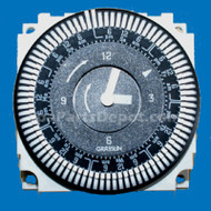 GRASSLIN TIME CLOCK:B/W 110V  15 AMP 60 HZ 7 DAY 5 LUG, Part # 3-40-0007