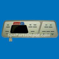 Coleman Spas 1994-2000 400 Series Topside Control Panel Part # 101-174