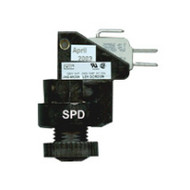 Len Gordon Air Switch Assembly, JAG-4X, 25Amp 120/240V 1 Or 2 HP, SPDT Latching (Panel Mount) - 860014-0