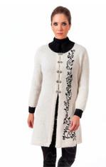 Boucle Alpaca Coat