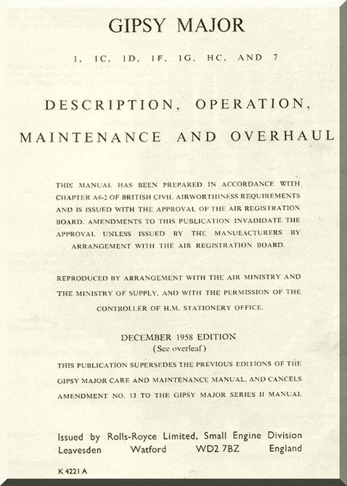 Hartzell Maintenance manual