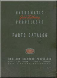 Hamilton Standard Feathering Aircraft Propeller Part Manual