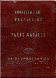 Hamilton Standard Counterweight Aircraft Propeller Part Manual