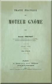 Gnome Moteur Traite Pratique Notice Technique ( French Language )