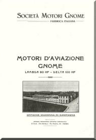 Rhone Gnome Lambda Operating Manual ( Italian  Language )