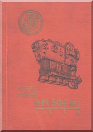 Hirth Motoren   HM 504 A-2  Engine Technical  Manual  (German Language ) - 1932