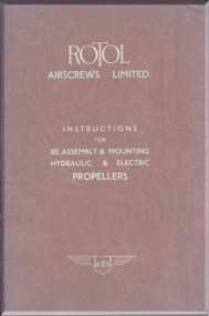Rotol Aircraft Propellers Re-Assembly and Mounting Manual R31 - 1943