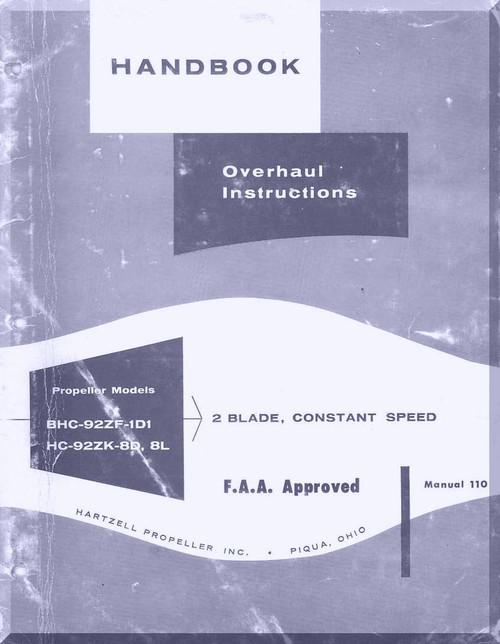 Hartzell Maintenance manual