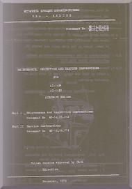 Ivchenko Al-14 RA  and Al-14 RC  Aircraft Engine Maintenance , Inspection , Service Manual    (English Language ) -