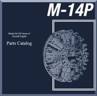 Vedeneyev M14P  Aircraft Engine Parts Catalog Manual    -  ( English Language )