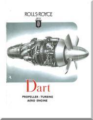 Rolls Royce Dart Aircraft Engine Brochure Manual