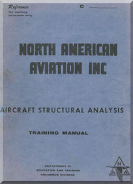 North American Aviation Aircraft Structural Analysis Manual  - 1944