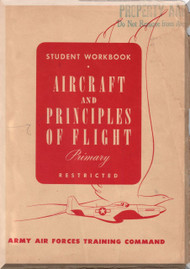 Army Air Forces Training Comand Aircraft  Principles of Flight Manual