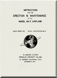 Douglas 8A-5  Aircraft  Erection and Maintenance  Manual   , 1940