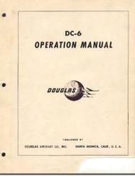 Douglas DC-6  Aircraft Operation  Manual - 1947