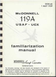 Mc Donnell Douglas 119 A Aircraft Familisation  Manual - 1959