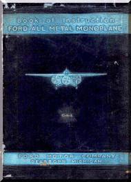 Ford Trimotor Instruction Handbook Manual 1929