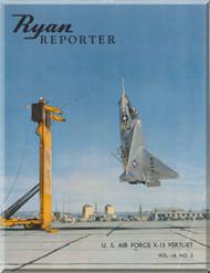 Ryan Reporter VertiJet X-13 Aircraft Manual