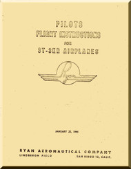 Ryan ST-3KR   Airplane Flight Instruction  Manual
