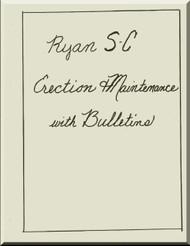 Ryan SC  Airplane Erection and Maintenance  Manual