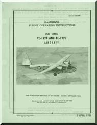 Chanche YC-122 and YC-122 A Handbook  Flight Operating Instruction  Manual 01-120CAB-1 - 1951