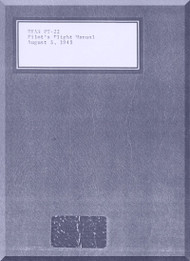 Ryan PT-21 PT-22  Airplane Pilot's Flight Manual -  T.O. 01-100GC-1 -1943