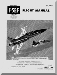 Northrop F-5 E, F  Aircraft Flight Manual T.O. 1F-5E-1, 1984