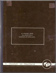 De Havilland DHA-3 Drover  Mk3 Mk.3A Mk.3B Aircraft  Maintenance & Repair Manual
