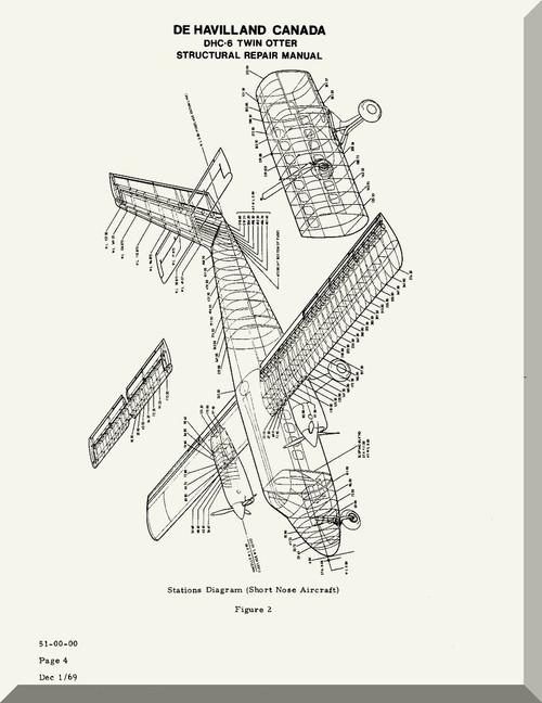de havilland dhc 6 aircraft structural repair manual aircraft rh aircraft reports com Tractor Accessories Product Alligator Crawler Tractor Repair Manual