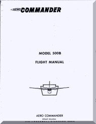 Aero Commander 500 B Aircraft Flight Manual