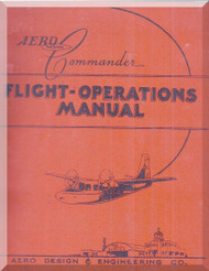 Aero Commander 560  Aircraft Flight Manual