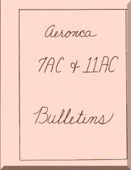 Aeronca 7AC 11 AC  Aircraft Service Bulletins Manual