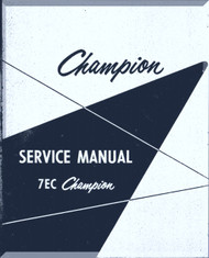 Aeronca 7 EC Aircraft Service   Manual