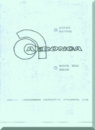 Aeronca 15  AC  Sedan Aircraft Service  Manual