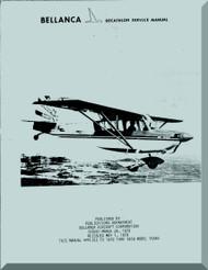 Bellanca Decathlon   Aircraft Service  Manual, 1978