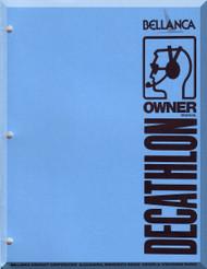Bellanca Decathlon  Aircraft  Owner's    Manual, 1978