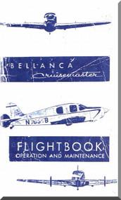 Bellanca Model Cruismaster  Aircraft  Flight Handbook Operation and Maintenance    Manual