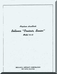 Bellanca 14-13 Cruisair Senior Aircraft Handbook Manual