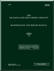 De Havilland Dove Aircraft Maintenance & Repair Manual