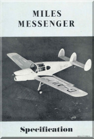 Miles  Messenger  Aircraft  Specification Manual