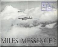 Miles  Messenger  Aircraft  Technical Brochure Manual
