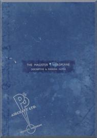 Miles  Magister  Aircraft  Descriptive & Rigging  Notes Manual