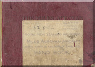 Miles  Aerovan  Aircraft  Service Manual