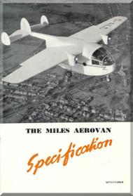 Miles  Aerovan  Aircraft  Specification Manual