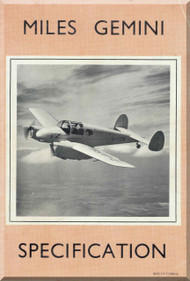 Miles Gemini   Aircraft  Specification  Manual