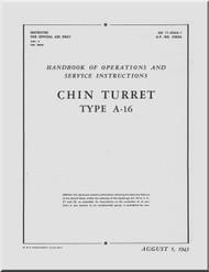 Bendix Chin A-16 Turret Aircraft Service Manual